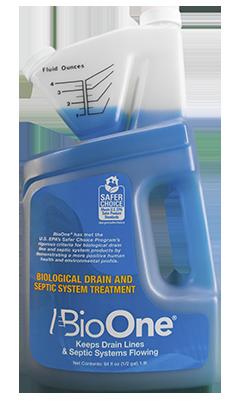 BioOne drain & septic cleaning treatment 64floz