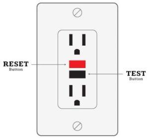 GFCI Protected Outlet