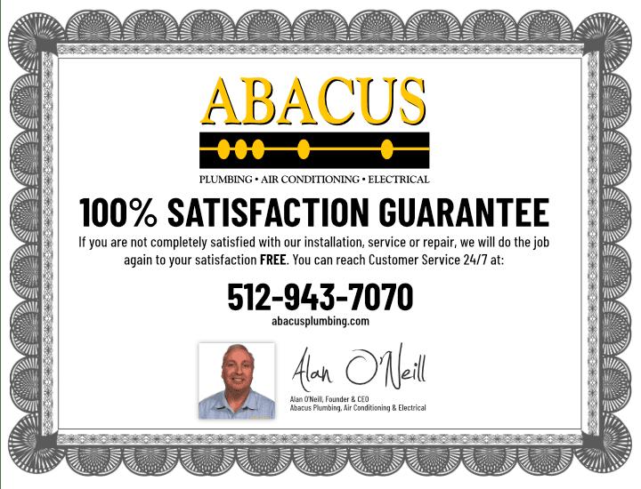 Abacus 100% Satisfaction Guarantee