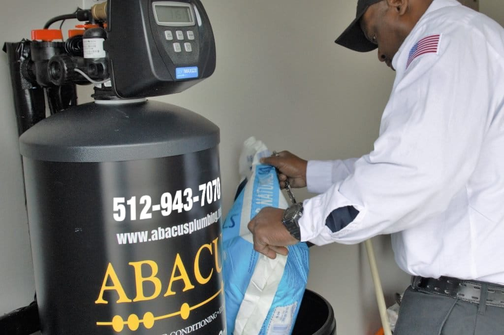 Water Softener Maintenance by Abacus in Austin
