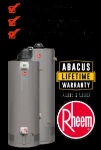 Abacus Austin Water Heater Lifetime Warranty