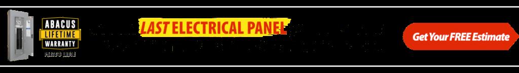 Electrical Panel Lifetime Warranty