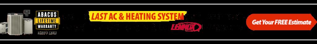 HVAC Lifetime Warranty