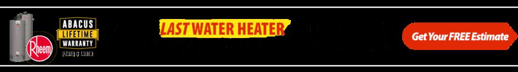 Water Heater Lifetime Warranty